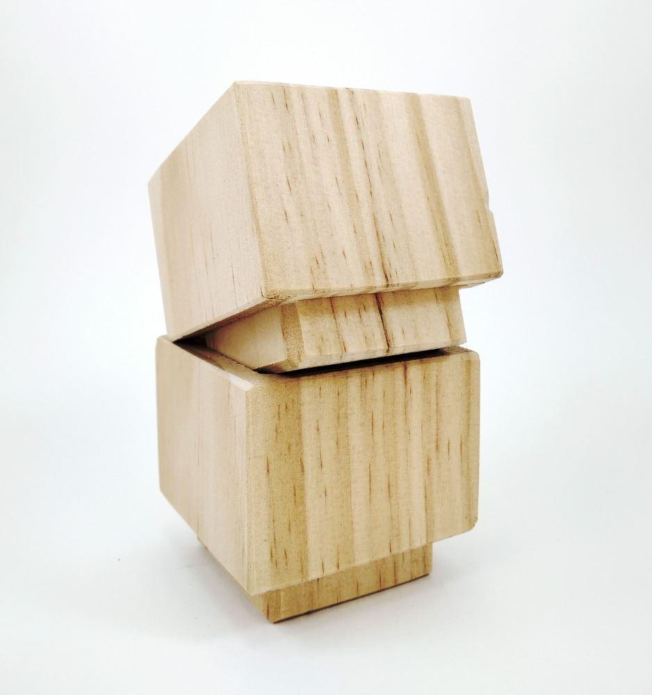 Taco o Pata para elevar camas mesas muebles APILABLES